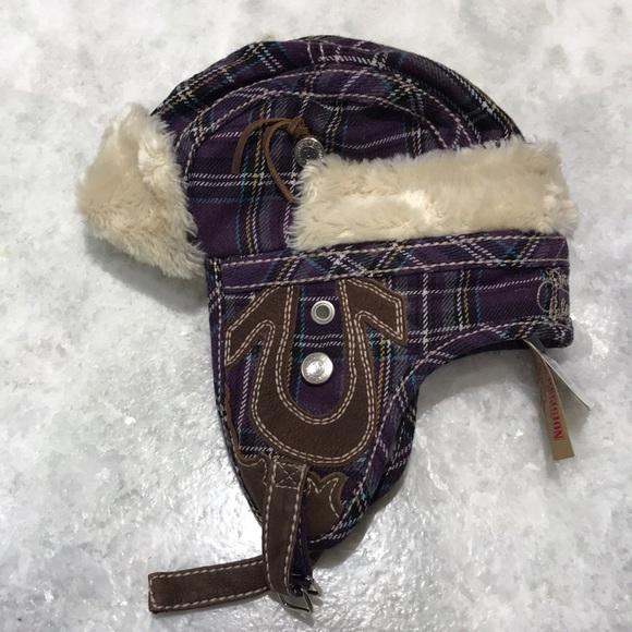 True Religion Trapper Bomber Winter Earflap Hat 52324504609